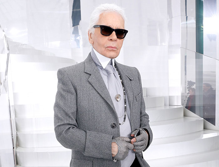 Remembering Karl Lagerfeld